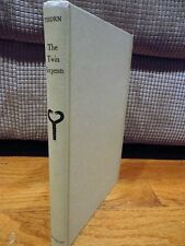 The Twin Serpents Hard Cover Book by Ronald Scott Thorn 1965 Vintage