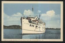 Postcard NORTH BAY Ont/CANADA  French River Excursion Steamer Chief Commanda