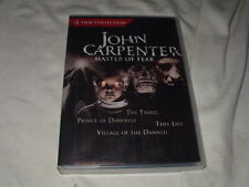 The Thing+They Live+Prince of Darkness+Village of the Damned DVD John Carpenter