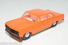 VEB PLASTICART PLASTIC OPEL REKORD ORANGE NEAR MINT CONDITION. .