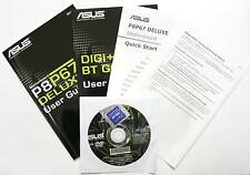 ASUS, p8p67 Deluxe, scheda madre-manuale con DVD driver