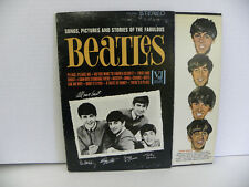 THE BEATLES-SONGS,PICTURES AND STORIES OF THE FABULOUS BEATLES STEREO NM- vinyl