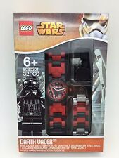 LEGO Star Wars Darth Vader With Mini-Figure Link Kids Watch 8020301 New