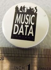 Music Data Acoustics Vintage Sound System Burning Pin!