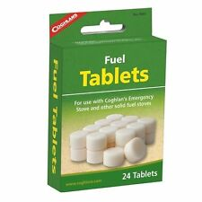 Coghlans Fuel Tablets for Emergency Stoves Burning Fire Camping Cook Light #9565
