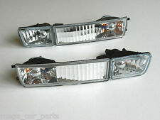 VW GOLF MK3 / VENTO 1991 - 1999 Front Indicator + H3 Fog Lights Set Pair - CLEAR