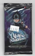 YU YU HAKUSHO GHOST FILES FACTORY SEALED UNLIMITED HOBBY BOOSTER PACK LOT