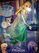 Frozen Elsa Doll Ice Skating Elsa  New In Box Ages 4+  for kids with skates