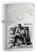 Zippo 28755, Jack Daniel's Scenes Lighter, Limited, #3 of 7, Brushed Chrome