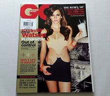 Emma Watson GQ British Magazine May 2013 New