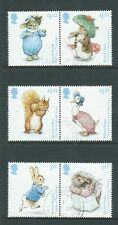 GREAT BRITAIN 2016 BEATRIX POTTER SET 6 FINE USED