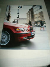 BMW 3 Series Compact brochure 2002 ed 1