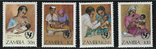 Zambia SC440-443 UN Child Survival Campaign MNH 1988