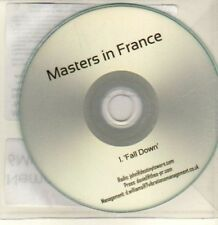 (CQ655) Masters In France, Fall Down - 2012 DJ CD