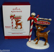 Hallmark Ornament North Pole Pals 2013 Rudolph the Red Nosed Reindeer & Redbird