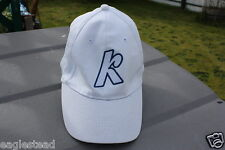 Ball Cap Hat - Kokanee - K - White - Beer (H650)