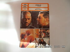 CARTE FICHE CINEMA 1995 OTHELLO Laurence Fishburne Irene Jacob Kenneth Branagh