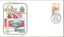 BRESIL PAPE JEAN PAUL II VISITE à Manaus 1980 / POPE JOHN PAUL II Brazil