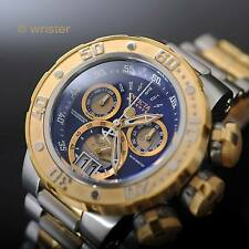 Invicta Reserve Subaqua Sea Dragon Swiss Chrono Retrograde Gold 52mm Men's Watch