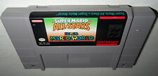 Super Nintendo Game MARIO ALL STARS+WORLD COMBO CART! Cleaned, SAVES! SNES 1 2 3