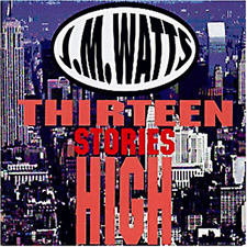 J.M. WATTS - THIRTEEN STORIES HIGH  CD  14 TRACKS ROCK & POP  NEU