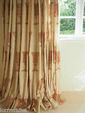 "GORGEOUS GREEK URN CURTAINS ~ ALATRI TRIPLE PLEAT HEADINGS  45""/""104"" X 84"" LONG"