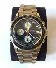SEIKO QUARTZ WORLD TIMER SPORTS 150 (RARE VINTAGE WATCH - Gold colour finish)