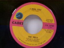 "THE DELLS ""I MISS YOU / DON'T MAKE ME A STORYTELLER"" 45 NEAR MINT"