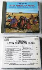 ORIGINAL LATIN AMERICAN MUSIC Los Incas, Los Jairas,...1988 Teldec Import CD TOP