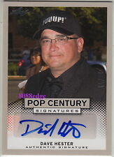 "2013 POP CENTURY AUTO: DAVE HESTER #11/25 AUTOGRAPH ""STORAGE WARS"" REALITY A&E"