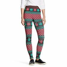 Modern Heritage Women's Seamless Christmas Gift Leggings Size Large/XL Xlarge
