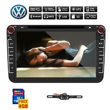"8"" 2Din Car DVD Player GPS Bluetooth Radio for VW Volkswagen JETTA PASSAT+camera"