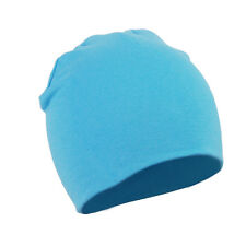 New Baby Toddler Infant Kids Children Soft Cute Knit Hat Beanies Cap SkyBlue