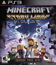 Minecraft: Story Mode -- Season Pass Disc (Sony PlayStation 3, 2015) Brand New!