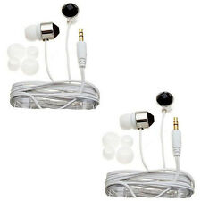 Nemo Digital Black/ White Crystal Stud Earbud Headphones (Case of 2)