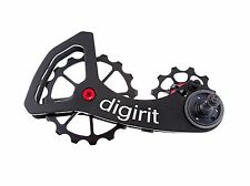 Digirit Road Bike Derailleur 11/16t Pulley Wheel Kit for Sram Red Force Rival