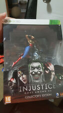 Injustice:Gods Among Us: Collector's UK Edition XBOX 360 Brand NEW Sealed PAL