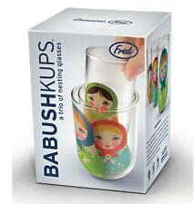Babushkups-Russian Doll nidification lunettes Babushka Par Fred