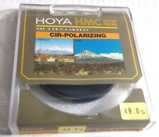 Genuine Hoya 49mm Circular Polarizing CPL CIR-PL HMC Lens Filter Multi-Coated