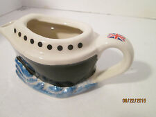 Queen Mary 2 Teapot Tony Carter England Collectibles