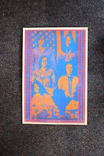 Big Brother & the Hold Tour Poster 1968 W/ Janis Joplin