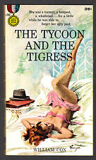 THE TYCOON AND THE TIGRESS William Cox 1st P 1958 Gold Medal s762 Barye Phillips