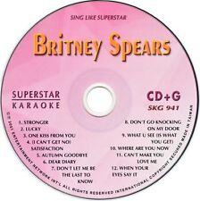 BRINEY SPEARS VOL II Karaoke SKG-941 SuperStar CDG NEW