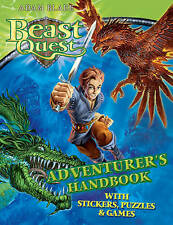 NEW BEAST QUEST Adventurers Handbook with STICKERS PUZZLES & GAMES