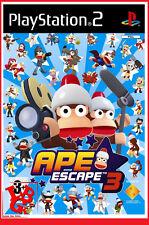 APE ESCAPE 3 Ps2 sous Blister OFFICIEL Jeu video Playstation 2 # NEUF #