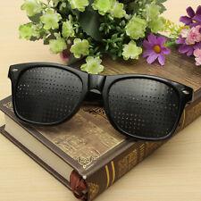 New Unisex Eyesight Improver Anti-fatigue Pinhole Glasses Eyewear Eyeglasses CIT