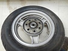 kawasaki ZL1000 Eliminator 1000 rear back rim wheel tire assembly mag 1987