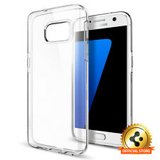 Spigen® [Liquid Crystal] Slim Case Perfect Fit TPU Cover For Samsung Galaxy S7