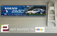 Volvo S40 Saloon BTTC Banner, Workshop, Garage, Track, Man Cave, 1300mm x 325mm