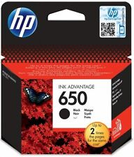 HP 650 Black Original Deskjet Ink Advantage Cartridge CZ101AE Genuine Brand NEW